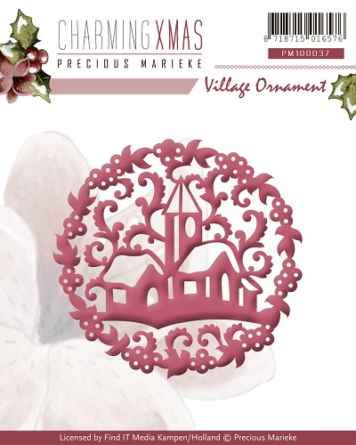 Die - Precious Marieke - Charming Xmas - Village Ornament