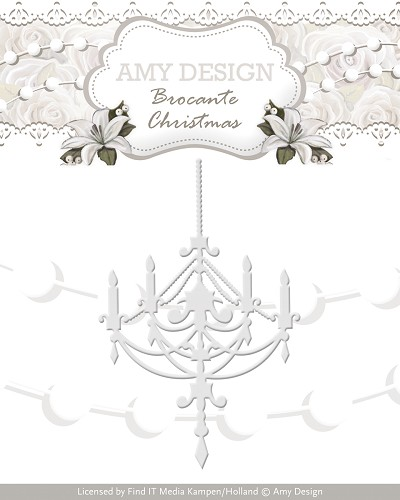 Die - Amy Design - Brocante Christmas - Chandelier