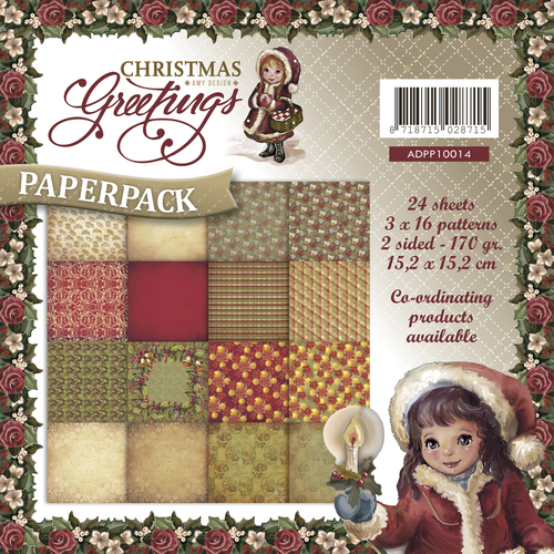 Paperpack - Amy Design - Christmas Greetings