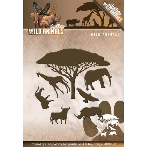 Die - Amy Design - Wild Animals - Rough Mountains