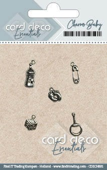 Card Deco Essentials - Charms Baby