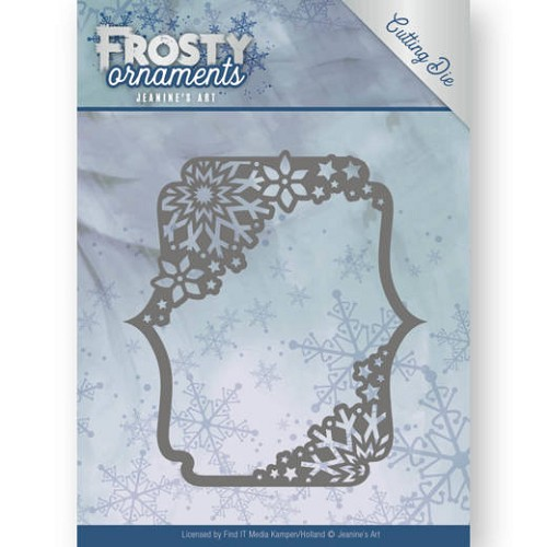 Dies - Jeanine`s Art - Frosty Ornaments - Rectangle Ornament