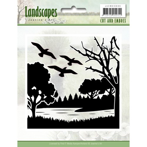 Cut and Embossing folder - Jeanine`s Art - Landscapes