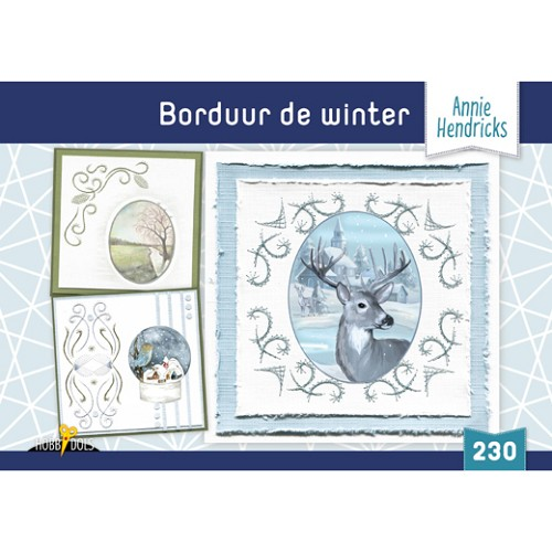 Hobbydols 230 Borduur de Winter - Annie Hendricks