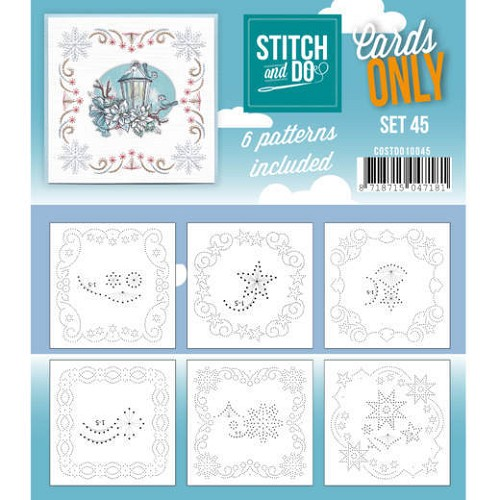 Cards only Stitch 45