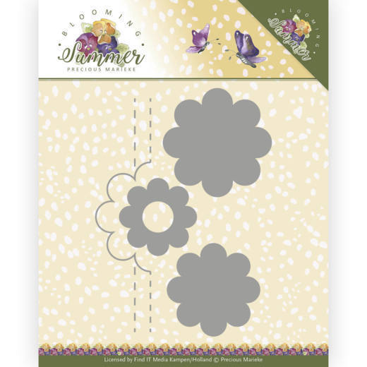 Dies - Precious Marieke - Blooming Summer - Pop-up Flower 2