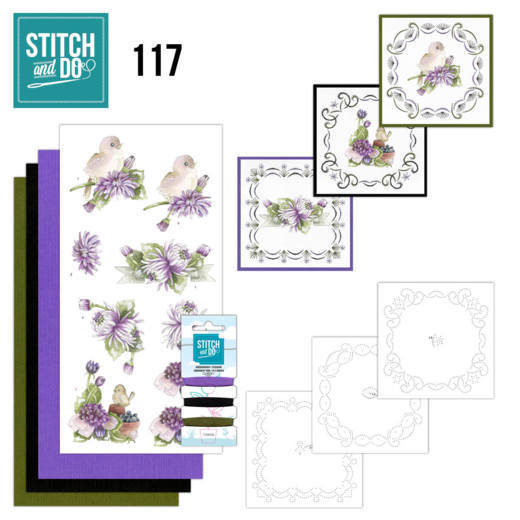 Stitch and Do 117 Chrysanthemum