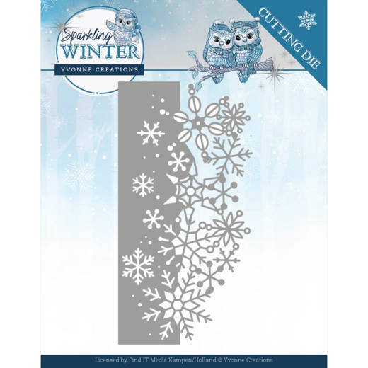 Dies - Yvonne Creations - Sparkling Winter - Sparkling Border