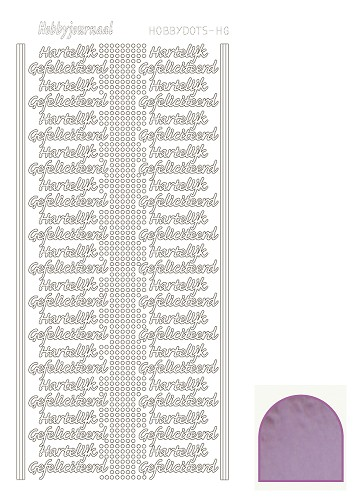 Hobbydots sticker mirror candy HG