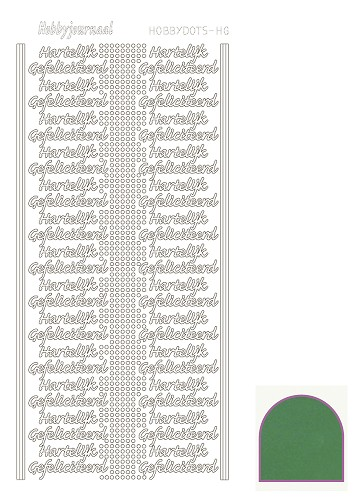 Hobbydots sticker mirror green HG