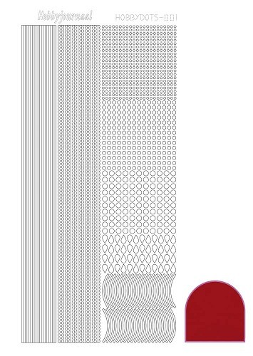 hobbydots mirror red