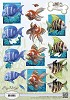 3D Knipvel - Amy Design - Animal Medley - Tropical Fish